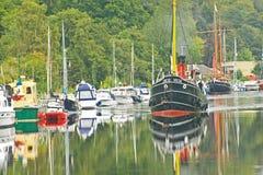32古苏格兰运河vic 库存照片