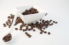 32粒豆咖啡 免版税库存图片