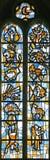32 окно запятнанное стеклами Стоковое Изображение RF