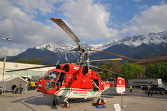 32 a12 hb直升机钾kamov xke 库存照片