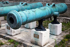 32 lb iron gun Stock Image