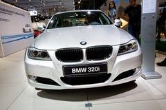 320个bmw汽车灰色 库存照片