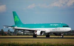 320 aer Airbus lingus obraz royalty free