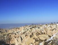 323 villes souterraines dans Capadocia Turquie Photographie stock