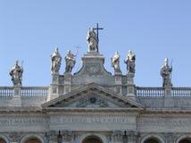 约翰lateran罗马圣徒 库存照片