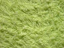 绿色毛巾 免版税库存照片