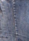 老牛仔布 免版税库存照片