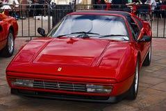 328gts dzień Ferrari przedstawienie obrazy royalty free