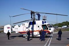 32a直升机钾 免版税图库摄影