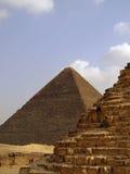 33座吉萨棉金字塔 免版税库存照片