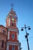 33杜马nevsky彼得斯堡st塔 库存图片