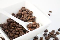 33粒豆咖啡 免版税库存照片
