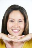 33 азиатских привлекательных детеныша девушки Стоковое Изображение