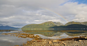 33 северная Норвегия Стоковое Изображение RF
