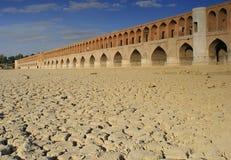 33 Pol Brücke in Isfahan, der Iran Stockfoto