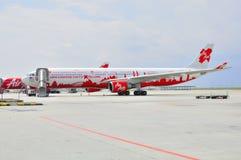 330 Air Asia 库存图片