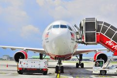 330 Air Asia 图库摄影