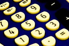 脏的计算器 免版税库存图片