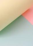 色的页 图库摄影