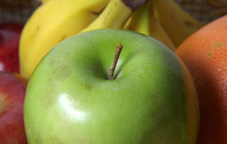 苹果绿 库存照片