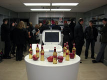 33rd Anniversary Apple -- Mac User Group meeting Stock Photography