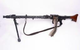 34德国人maschinengewehr 免版税库存图片