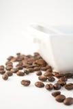 34粒豆咖啡 免版税库存照片