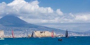 34. Amerikas Cup-Weltmeisterschaft 2012 in Neapel Stockbild