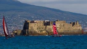 34. Amerikas Cup-Weltmeisterschaft 2012 in Neapel Stockbilder