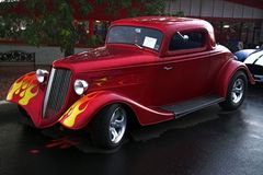 34 Ford Hotrod Stockfotos