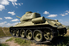 34 t坦克 库存照片