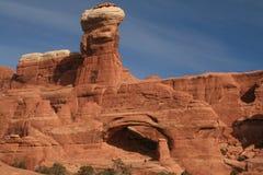34 łuków park narodowy Obrazy Royalty Free