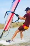 34 windsurfer Fotografia Royalty Free