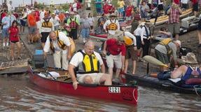 340 2010年密苏里种族河 免版税库存照片