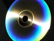 蓝色cd 免版税库存图片
