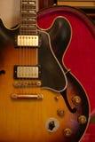 345 es gibson gitary rocznik Zdjęcie Stock