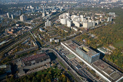 348 wzrosta metrów monorail pociąg Obraz Royalty Free