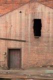 被拆毁的门视窗 免版税库存图片