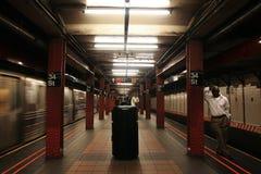 Free 34st New York Subway Station Stock Photography - 100586892