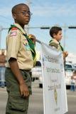 34th однолетнее winternational благодарения парада дня Стоковые Фотографии RF
