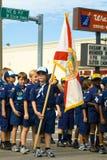 34th однолетнее winternational благодарения парада дня стоковая фотография rf