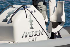 34th America's Cup World Series 2012 in Naples Stock Photo