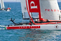34th America's Cup World Series 2012 in Naples Royalty Free Stock Photos