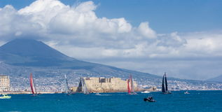 34th America's Cup World Series 2012 in Naples Stock Image