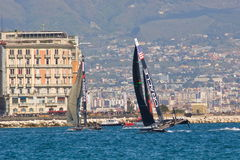 34th America's Cup World Series 2012 in Naples Stock Photos
