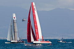 34th America's Cup World Series 2012 in Naples Royalty Free Stock Photo