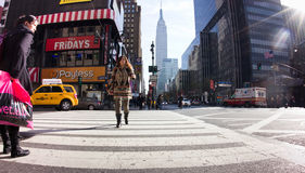 34th Street NYC Royalty Free Stock Photography