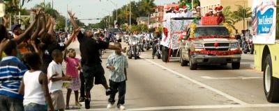 34to Desfile anual del día de la acción de gracias de WinterNational Fotos de archivo
