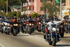 34to Desfile anual del día de la acción de gracias de WinterNational Imagen de archivo libre de regalías