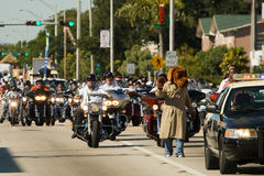 34to Desfile anual del día de la acción de gracias de WinterNational Fotos de archivo libres de regalías